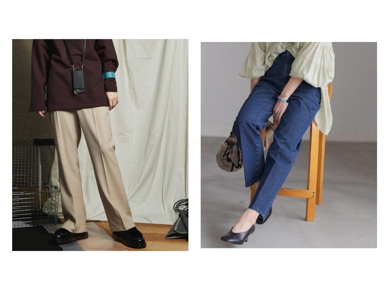 【MAISON SPECIAL/メゾンスペシャル】の《ユニセックスアイテム》ドスキンダブルクロスシューカットパンツ 【メゾンスペシャル】&【Adam et Rope/アダム エ ロペ】のセンタープレス5PKデニム パンツのおすすめ!人気、レディースファッションの通販 おすすめで人気のファッション通販商品 インテリア・家具・キッズファッション・メンズファッション・レディースファッション・服の通販 founy(ファニー) https://founy.com/ ファッション Fashion レディース WOMEN パンツ Pants ジーンズ ストレッチ パターン フレア インディゴ 今季 ジャケット スラックス センター デニム 定番 ポケット |ID:crp329100000001450