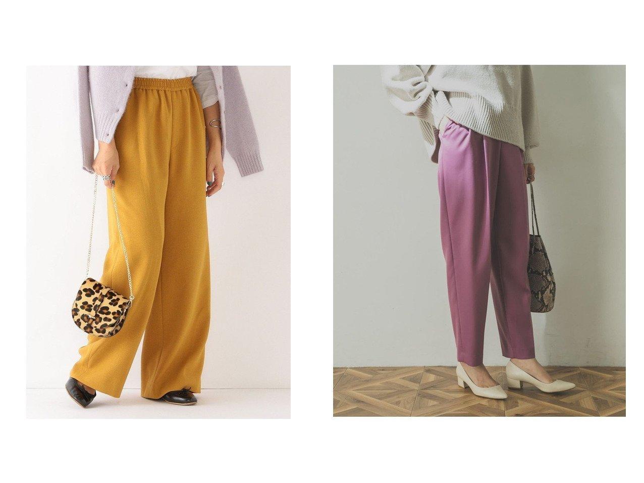 【URBAN RESEARCH/アーバンリサーチ】のカラータックパンツ&【SHIPS any/シップス エニィ】のSHIPS any: アムンゼン ウォーム イージーパンツ パンツのおすすめ!人気、レディースファッションの通販 おすすめで人気のファッション通販商品 インテリア・家具・キッズファッション・メンズファッション・レディースファッション・服の通販 founy(ファニー) https://founy.com/ ファッション Fashion レディース WOMEN パンツ Pants ウォーム ギャザー ジーンズ ストレート バランス リラックス 秋冬 A/W Autumn/ Winter |ID:crp329100000001454