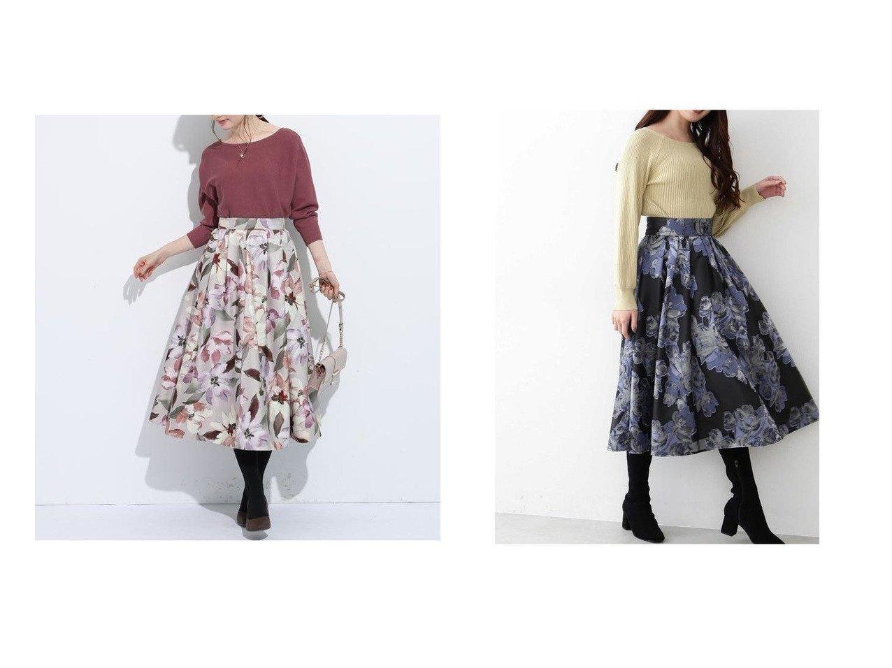【Apuweiser-riche/アプワイザーリッシェ】のニュアンスフラワータックフレアスカート&【JILL by JILLSTUART/ジルバイジルスチュアート】のシアージャガードスカート スカートのおすすめ!人気、レディースファッションの通販 おすすめで人気のファッション通販商品 インテリア・家具・キッズファッション・メンズファッション・レディースファッション・服の通販 founy(ファニー) https://founy.com/ ファッション Fashion レディース WOMEN スカート Skirt Aライン/フレアスカート Flared A-Line Skirts ギャザー コンパクト フレア プリント リラックス ワーク クラシカル フェミニン  ID:crp329100000001466