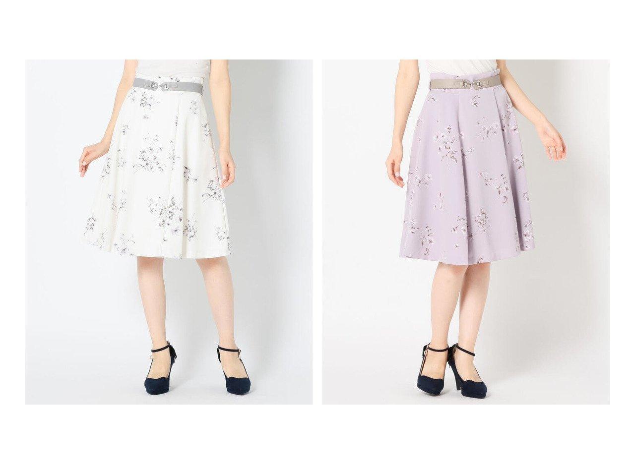 【MISCH MASCH/ミッシュマッシュ】の《田中みな実さん着用》ビットベルト付き花柄スカート スカートのおすすめ!人気、レディースファッションの通販 おすすめで人気のファッション通販商品 インテリア・家具・キッズファッション・メンズファッション・レディースファッション・服の通販 founy(ファニー) https://founy.com/ ファッションモデル・俳優・女優 Models 女性 Women 田中みな実 Tanaka Minami ファッション Fashion レディース WOMEN スカート Skirt Aライン/フレアスカート Flared A-Line Skirts ベルト Belts ギャザー フラワー フレア  ID:crp329100000001471