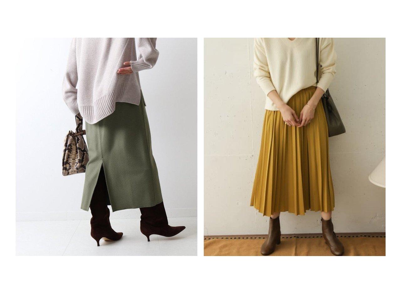 【URBAN RESEARCH DOORS/アーバンリサーチ ドアーズ】のランダムプリーツスカート&【FRAMeWORK/フレームワーク】のツイルジャージータイトスカート スカートのおすすめ!人気、レディースファッションの通販 おすすめで人気のファッション通販商品 インテリア・家具・キッズファッション・メンズファッション・レディースファッション・服の通販 founy(ファニー) https://founy.com/ ファッション Fashion レディース WOMEN スカート Skirt プリーツスカート Pleated Skirts 秋冬 A/W Autumn/ Winter シューズ タイトスカート ツイル 定番 楽ちん スタンダード バランス プリーツ ポケット ランダム リボン リラックス ロング  ID:crp329100000001472