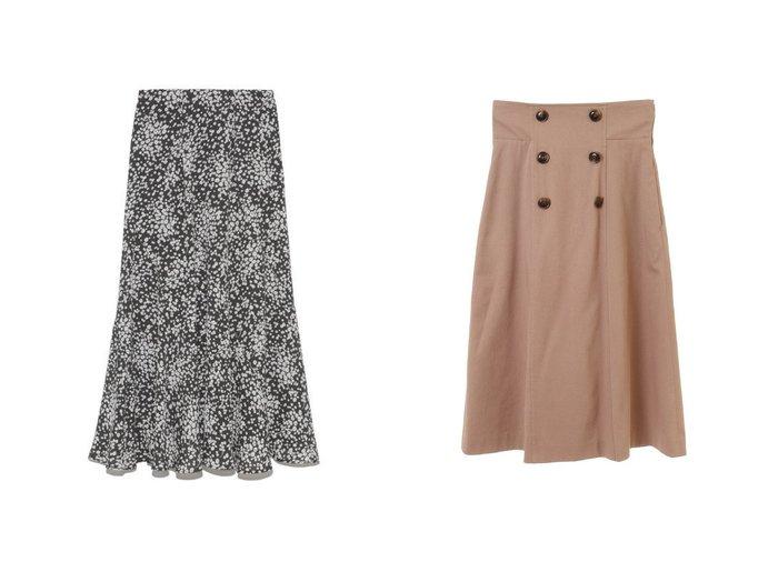 【31 Sons de mode/トランテアン ソン ドゥ モード】のバックプリーツトレンチスカート&【Mila Owen/ミラオーウェン】のバイアス切替えプリントナロースカート スカートのおすすめ!人気、レディースファッションの通販 おすすめファッション通販アイテム インテリア・キッズ・メンズ・レディースファッション・服の通販 founy(ファニー) https://founy.com/ ファッション Fashion レディース WOMEN スカート Skirt スマート バイアス フィット プリント 楽ちん デニム トレンチ フリル フロント 冬 Winter |ID:crp329100000001473
