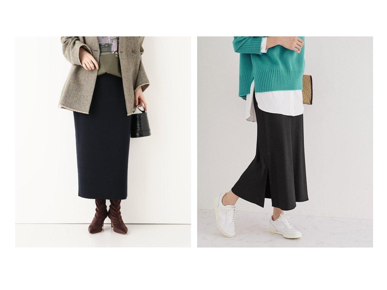 【Plage/プラージュ】のSmooth Knit スカート&【ROPE/ロペ】のサテンミモレスカート スカートのおすすめ!人気、レディースファッションの通販 おすすめで人気のファッション通販商品 インテリア・家具・キッズファッション・メンズファッション・レディースファッション・服の通販 founy(ファニー) https://founy.com/ ファッション Fashion レディース WOMEN スカート Skirt エレガント 春 カーディガン フィット ベーシック 秋冬 A/W Autumn/ Winter  ID:crp329100000001475