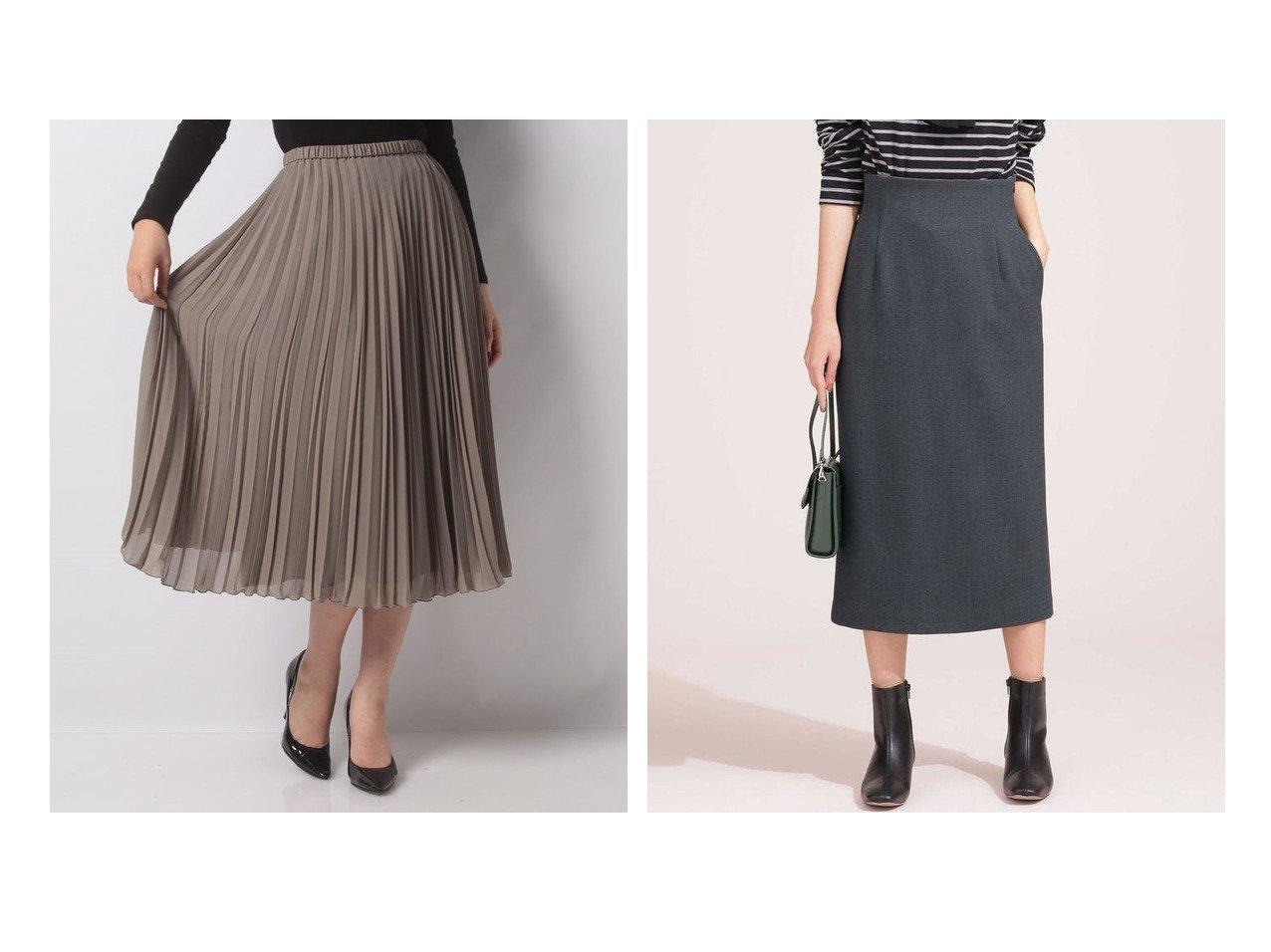 【LEILIAN/レリアン】のプリーツロングシフォンスカート&【nano universe/ナノ ユニバース】のペンシルスカート スカートのおすすめ!人気、レディースファッションの通販 おすすめで人気のファッション通販商品 インテリア・家具・キッズファッション・メンズファッション・レディースファッション・服の通販 founy(ファニー) https://founy.com/ ファッション Fashion レディース WOMEN スカート Skirt プリーツスカート Pleated Skirts Aライン/フレアスカート Flared A-Line Skirts フィット プリーツ 秋冬 A/W Autumn/ Winter ウォッシャブル シンプル ストレッチ スリット タイトスカート ペンシル |ID:crp329100000001491