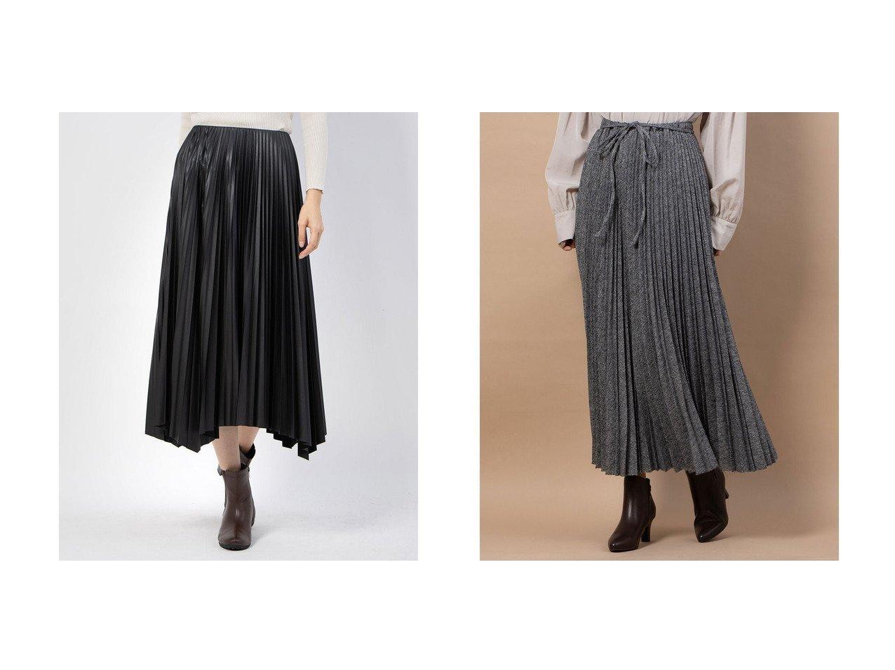 【Mila Owen/ミラオーウェン】の後ろゴムランダムプリーツLSK&レザー見えランダムヘムプリーツスカート スカートのおすすめ!人気、レディースファッションの通販 おすすめで人気のファッション通販商品 インテリア・家具・キッズファッション・メンズファッション・レディースファッション・服の通販 founy(ファニー) https://founy.com/ ファッション Fashion レディース WOMEN スカート Skirt プリーツスカート Pleated Skirts スタイリッシュ プリーツ ランダム 人気 |ID:crp329100000001498
