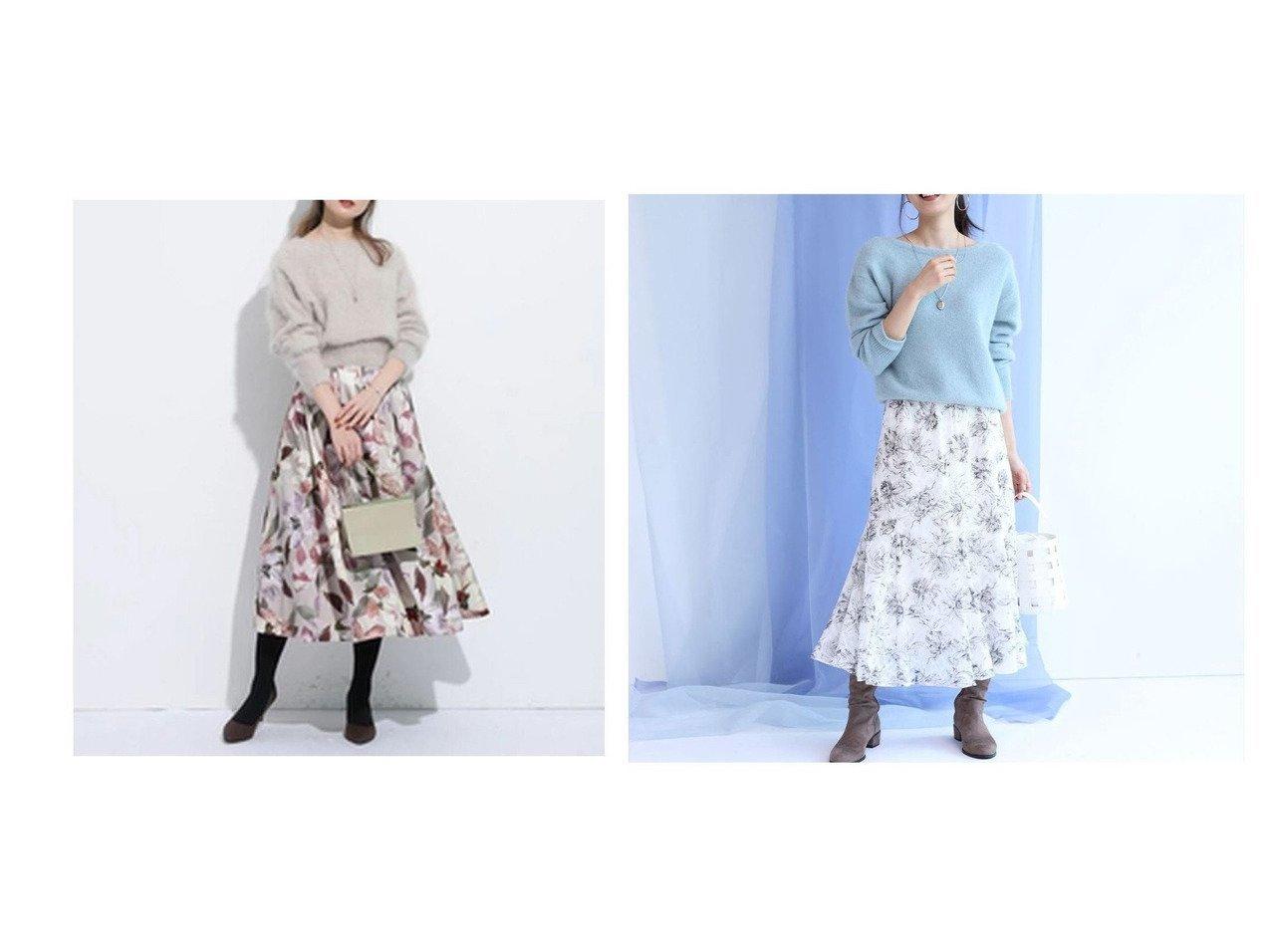 【Apuweiser-riche/アプワイザーリッシェ】のニュアンスフラワータックフレアスカート&【JUSGLITTY/ジャスグリッティー】のエアリージャガードプリントスカート スカートのおすすめ!人気、レディースファッションの通販 おすすめで人気のファッション通販商品 インテリア・家具・キッズファッション・メンズファッション・レディースファッション・服の通販 founy(ファニー) https://founy.com/ ファッション Fashion レディース WOMEN スカート Skirt Aライン/フレアスカート Flared A-Line Skirts コンパクト フレア プリント リラックス ワーク エアリー パターン |ID:crp329100000001499