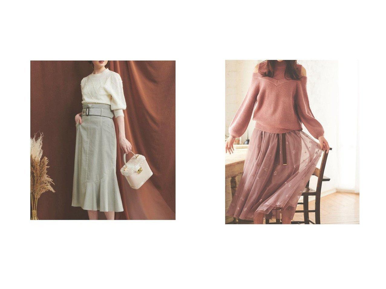 【31 Sons de mode/トランテアン ソン ドゥ モード】の【スカート】刺繍チュールスカート&【Noela/ノエラ】のコーデュロイスカート スカートのおすすめ!人気、レディースファッションの通販 おすすめで人気のファッション通販商品 インテリア・家具・キッズファッション・メンズファッション・レディースファッション・服の通販 founy(ファニー) https://founy.com/ ファッション Fashion レディース WOMEN スカート Skirt アシンメトリー コーデュロイ タイトスカート アクセサリー イヤーカフ エレガント 秋 グログラン シューズ スウェット スニーカー タートルネック チュール トレンド トレーナー ドレープ 定番 ネックレス パーカー フェミニン ミュール リボン 秋冬 A/W Autumn/ Winter 冬 Winter  ID:crp329100000001519