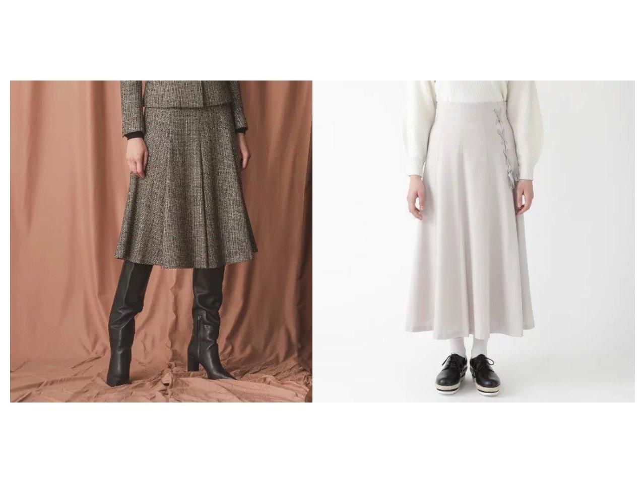 【EPOCA/エポカ】の【24 TWENTY FOUR JACKET Tweed】フレアスカート&【BLUE LABEL CRESTBRIDGE/ブルーレーベル・クレストブリッジ】のソフトサキソニーフレアスカート スカートのおすすめ!人気、レディースファッションの通販 おすすめで人気のファッション通販商品 インテリア・家具・キッズファッション・メンズファッション・レディースファッション・服の通販 founy(ファニー) https://founy.com/ ファッション Fashion レディース WOMEN アウター Coat Outerwear ジャケット Jackets スカート Skirt Aライン/フレアスカート Flared A-Line Skirts イエロー クラシカル ジャケット ストレッチ ツイード フレア マキシ リボン ロング ショート  ID:crp329100000001527