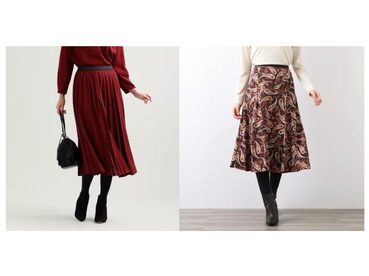 【AMACA/アマカ】のフローラルペイズリースカート&【TRANS WORK/トランスワーク】の【ウォッシャブル】ピーチサテンスカート スカートのおすすめ!人気、レディースファッションの通販 おすすめで人気のファッション通販商品 インテリア・家具・キッズファッション・メンズファッション・レディースファッション・服の通販 founy(ファニー) https://founy.com/ ファッション Fashion レディース WOMEN スカート Skirt ウォッシャブル サテン マキシ ロング 春 秋 秋冬 A/W Autumn/ Winter エレガント シャンタン セットアップ ピーチ フラワー ペイズリー ミックス モチーフ 無地  ID:crp329100000001530