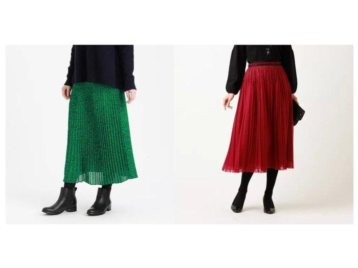 【TO BE CHIC/トゥー ビー シック】のブレードコンビプリーツスカート&【MACKINTOSH PHILOSOPHY/マッキントッシュ フィロソフィー】のクラシカルプリーツスカート スカートのおすすめ!人気、レディースファッションの通販 おすすめ人気トレンドファッション通販アイテム 人気、トレンドファッション・服の通販 founy(ファニー)  ファッション Fashion レディース WOMEN スカート Skirt プリーツスカート Pleated Skirts ジョーゼット ドレープ パウダー プリント マキシ モダン モチーフ ロング 無地 秋冬 A/W Autumn/ Winter シアー トレンド バランス プリーツ |ID:crp329100000001534