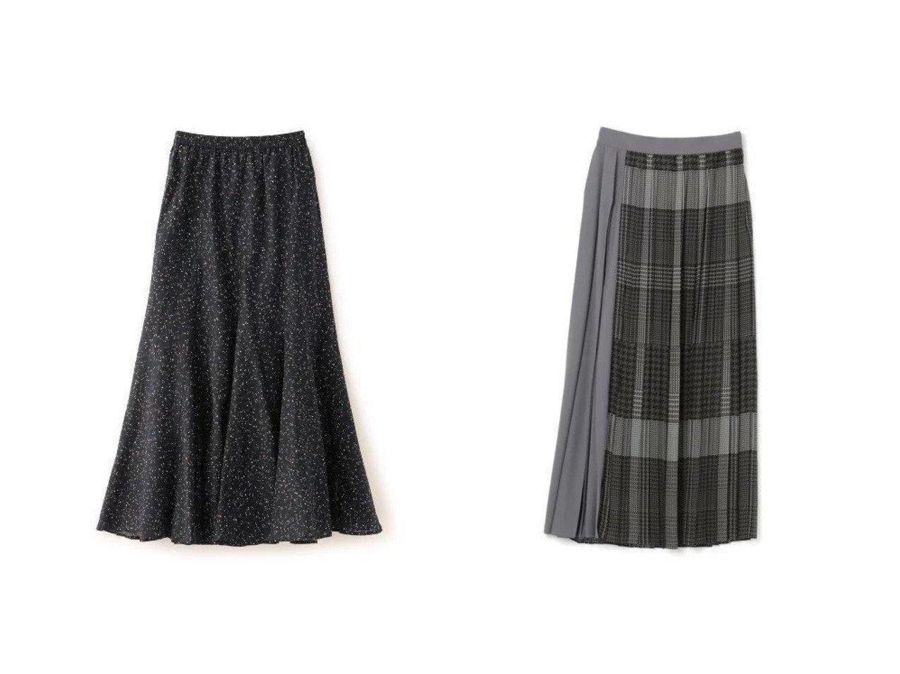 【ADORE/アドーア】のガンクラブプリーツ&【EPOCA THE SHOP/エポカ ザ ショップ】の【MARIHA】夢見るマーメイドのスカート スカートのおすすめ!人気、レディースファッションの通販 おすすめで人気のファッション通販商品 インテリア・家具・キッズファッション・メンズファッション・レディースファッション・服の通販 founy(ファニー) https://founy.com/ ファッション Fashion レディース WOMEN スカート Skirt インド エレガント コレクション シルク ジュエリー ドット ドレス フラット フラワー プリント マキシ マーメイド モノトーン ライニング ロング  ID:crp329100000001537