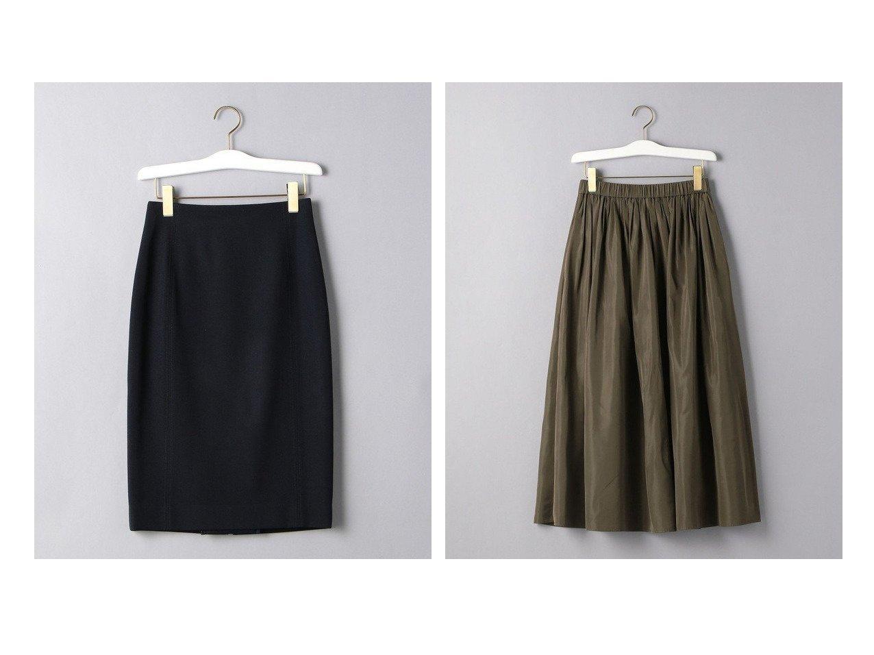 【UNITED ARROWS/ユナイテッドアローズ】のW ステッチ タイトスカート&UWFM タフタ ギャザー スカート スカートのおすすめ!人気、レディースファッションの通販 おすすめで人気のファッション通販商品 インテリア・家具・キッズファッション・メンズファッション・レディースファッション・服の通販 founy(ファニー) https://founy.com/ ファッション Fashion レディース WOMEN スカート Skirt Aライン/フレアスカート Flared A-Line Skirts シンプル タイトスカート ギャザー タフタ フェミニン フレア  ID:crp329100000001539