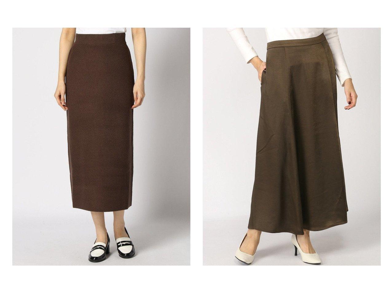 【GLOBAL WORK/グローバルワーク】のVintageサテンSK+D&【LOWRYS FARM/ローリーズファーム】のギザギザガラニットSK スカートのおすすめ!人気、レディースファッションの通販 おすすめで人気のファッション通販商品 インテリア・家具・キッズファッション・メンズファッション・レディースファッション・服の通販 founy(ファニー) https://founy.com/ ファッション Fashion レディース WOMEN スカート Skirt ロングスカート Long Skirt ストレート タイトスカート フレア サテン ジャケット ストレッチ ロング  ID:crp329100000001541