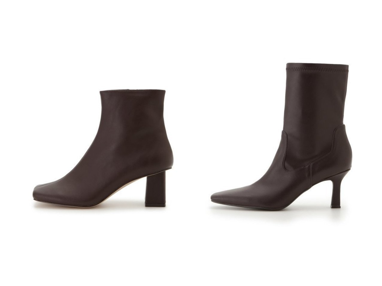 【Mila Owen/ミラオーウェン】のハイアンクルストレッチブーツ&【SNIDEL/スナイデル】のワイドスクエアショートブーツ シューズ・靴のおすすめ!人気、レディースファッションの通販 おすすめで人気のファッション通販商品 インテリア・家具・キッズファッション・メンズファッション・レディースファッション・服の通販 founy(ファニー) https://founy.com/ ファッション Fashion レディース WOMEN シューズ スタイリッシュ ストレッチ スマート フェイクレザー ボトム ロング 冬 Winter ショート センター 今季  ID:crp329100000001567