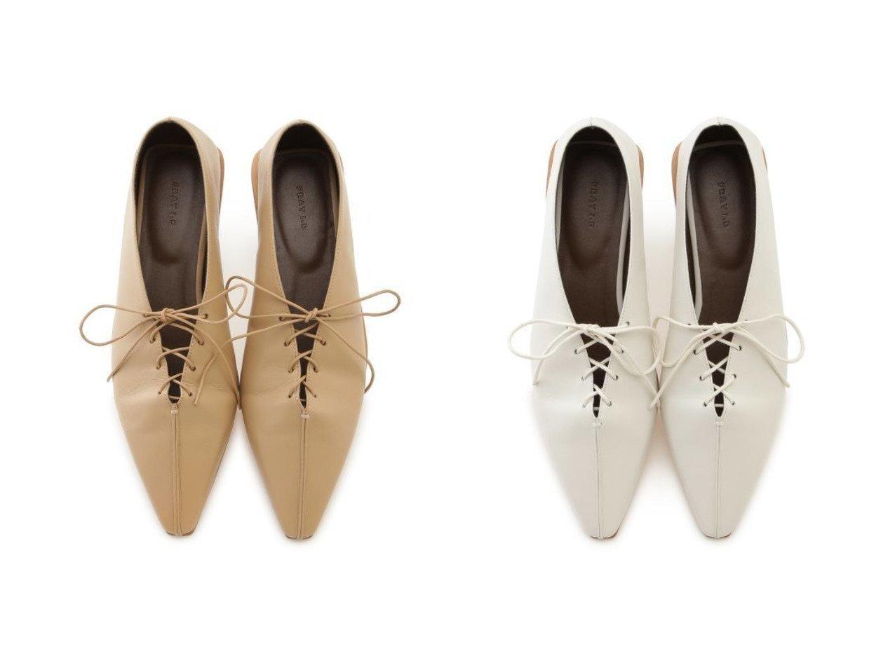 【FRAY I.D/フレイ アイディー】のレースアップフラットシューズ シューズ・靴のおすすめ!人気、レディースファッションの通販 おすすめで人気のファッション通販商品 インテリア・家具・キッズファッション・メンズファッション・レディースファッション・服の通販 founy(ファニー) https://founy.com/ ファッション Fashion レディース WOMEN シューズ スマート スリム バランス フラット ボトム レース  ID:crp329100000001568