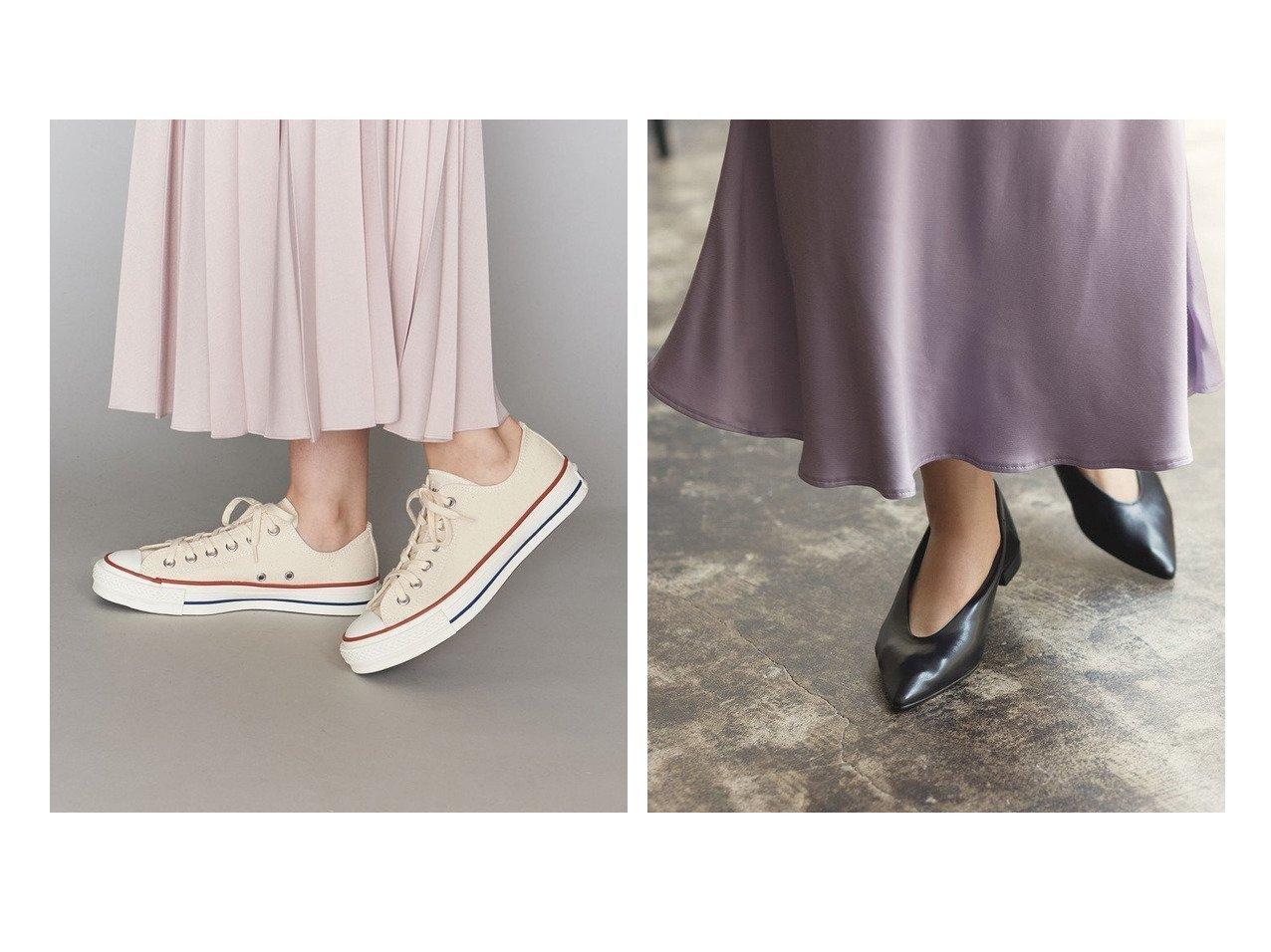 【BEAUTY&YOUTH UNITED ARROWS/ビューティアンド ユースユナイテッドアローズ】のALL STAR MADE IN JAPAN スニーカー&【Adam et Rope/アダム エ ロペ】のポインテッドフラッドシューズ シューズ・靴のおすすめ!人気、レディースファッションの通販 おすすめで人気のファッション通販商品 インテリア・家具・キッズファッション・メンズファッション・レディースファッション・服の通販 founy(ファニー) https://founy.com/ ファッション Fashion レディース WOMEN シューズ スニーカー パッチ プレミアム レース 人気 定番 カッティング フラット ミュール  ID:crp329100000001574