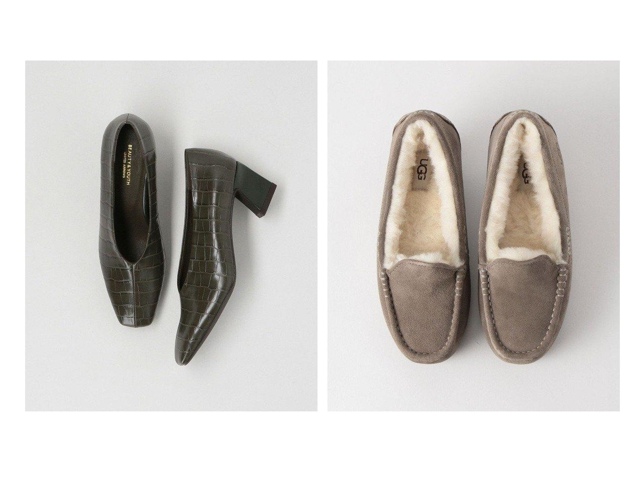 【BEAUTY&YOUTH UNITED ARROWS/ビューティアンド ユースユナイテッドアローズ】のANSLEY スエードアンスレー/スリッポン&BY エンボスクロコモチーフパンプス シューズ・靴のおすすめ!人気、レディースファッションの通販 おすすめで人気のファッション通販商品 インテリア・家具・キッズファッション・メンズファッション・レディースファッション・服の通販 founy(ファニー) https://founy.com/ ファッション Fashion レディース WOMEN シューズ トレンド フェミニン ベーシック 秋冬 A/W Autumn/ Winter カリフォルニア クラシック スエード スリッポン デニム 定番 人気 フォルム マキシ ワイド  ID:crp329100000001575