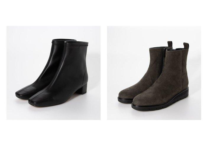 【jupery/ジュペリー】のスクエアトゥストレッチショートブーツ&【YOSHITO de ORANGE/ヨシトデオランジェ】のレインブーツ シューズ・靴のおすすめ!人気、レディースファッションの通販 おすすめファッション通販アイテム インテリア・キッズ・メンズ・レディースファッション・服の通販 founy(ファニー) https://founy.com/ ファッション Fashion レディース WOMEN ショート シンプル ストレッチ ボトム ロング インソール スニーカー メッシュ 軽量 |ID:crp329100000001597