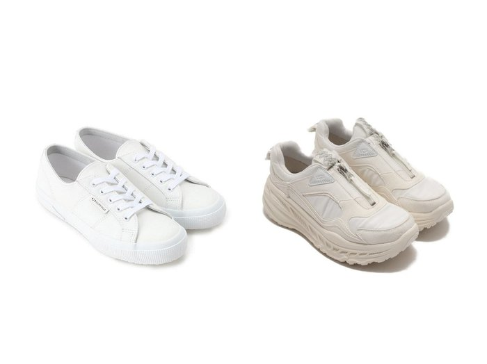 【UGG Australia/アグ】のUGG CA805 Zip&【UNTITLED/アンタイトル】のSUPERGAレザースニーカー シューズ・靴のおすすめ!人気、レディースファッションの通販 おすすめファッション通販アイテム インテリア・キッズ・メンズ・レディースファッション・服の通販 founy(ファニー) https://founy.com/ ファッション Fashion レディース WOMEN クール シューズ スニーカー スリッポン ベーシック 人気 スエード メッシュ ライニング |ID:crp329100000001605