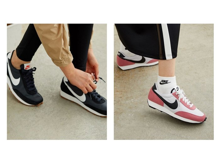 【NIKE/ナイキ】の【NIKE】ナイキ デイブレイク ウィメンズシューズ シューズ・靴のおすすめ!人気、レディースファッションの通販 おすすめファッション通販アイテム レディースファッション・服の通販 founy(ファニー) ファッション Fashion レディース WOMEN クッション クラシック シューズ スエード スニーカー スリッポン 軽量 |ID:crp329100000001609