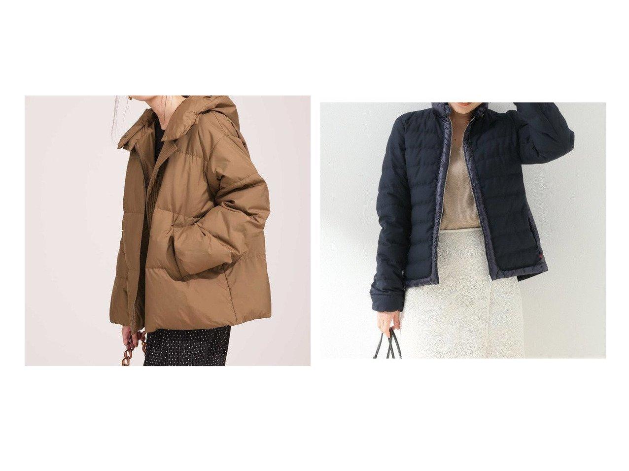 【Spick & Span/スピック&スパン】の【WOOLRICH】 LUXE CLOVER JKT&【nano universe/ナノ ユニバース】のスタンドカラーフードボリュームショートダウン アウターのおすすめ!人気、レディースファッションの通販 おすすめで人気のファッション通販商品 インテリア・家具・キッズファッション・メンズファッション・レディースファッション・服の通販 founy(ファニー) https://founy.com/ ファッション Fashion レディース WOMEN アウター Coat Outerwear イタリア ショート ジャケット スタンド ダウン バランス フェザー アウトドア インナー コンパクト シェイプ トリミング フロント 防寒  ID:crp329100000001667