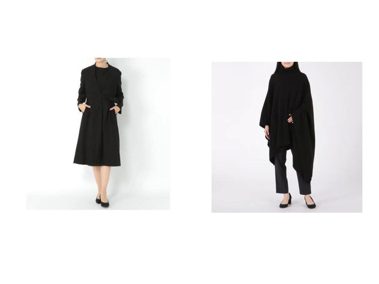【CASSY PRIVE/キャシープリヴェ】のカシミヤ7Gリブニットポンチョ&【Elura/エルーラ】のブラックコート アウターのおすすめ!人気、レディースファッションの通販 おすすめで人気のファッション通販商品 インテリア・家具・キッズファッション・メンズファッション・レディースファッション・服の通販 founy(ファニー) https://founy.com/ ファッション Fashion レディース WOMEN アウター Coat Outerwear コート Coats ポンチョ Ponchos トップス Tops Tshirt ニット Knit Tops タートルネック Turtleneck ストレッチ スマート ロング 冬 Winter カシミヤ シンプル スタイリッシュ セーター タートルネック フロント ポケット ポンチョ 今季 |ID:crp329100000001712