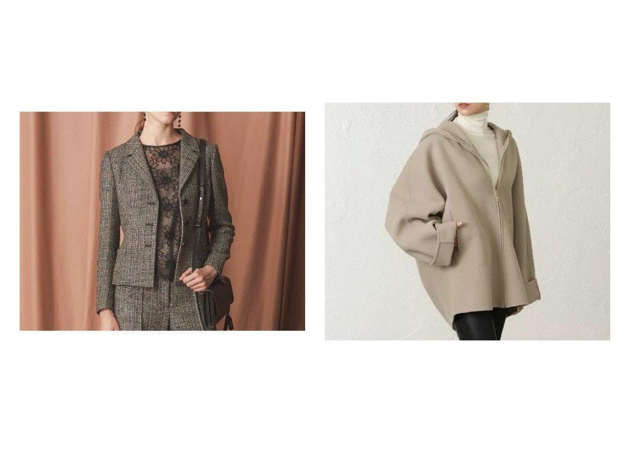 【EPOCA/エポカ】のファインダブルモッサケープコート&【24 TWENTY FOUR JACKET Tweed】テーラードジャケット アウターのおすすめ!人気、レディースファッションの通販 おすすめで人気のファッション通販商品 インテリア・家具・キッズファッション・メンズファッション・レディースファッション・服の通販 founy(ファニー) https://founy.com/ ファッション Fashion レディース WOMEN アウター Coat Outerwear ジャケット Jackets テーラードジャケット Tailored Jackets コート Coats クラシカル ジャケット ストレッチ ツイード テーラード リボン |ID:crp329100000001715