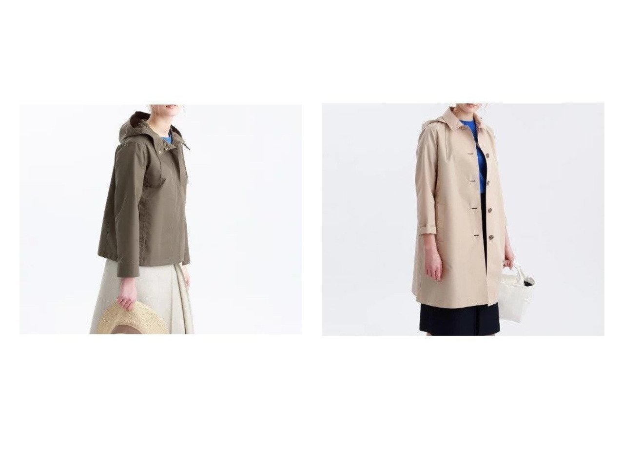 【MACKINTOSH PHILOSOPHY/マッキントッシュ フィロソフィー】のコットンレインクロスフーデッドコート&コットンレインクロスブルゾン アウターのおすすめ!人気、レディースファッションの通販 おすすめで人気のファッション通販商品 インテリア・家具・キッズファッション・メンズファッション・レディースファッション・服の通販 founy(ファニー) https://founy.com/ ファッション Fashion レディース WOMEN アウター Coat Outerwear コート Coats ブルゾン Blouson Jackets ポーチ |ID:crp329100000001724