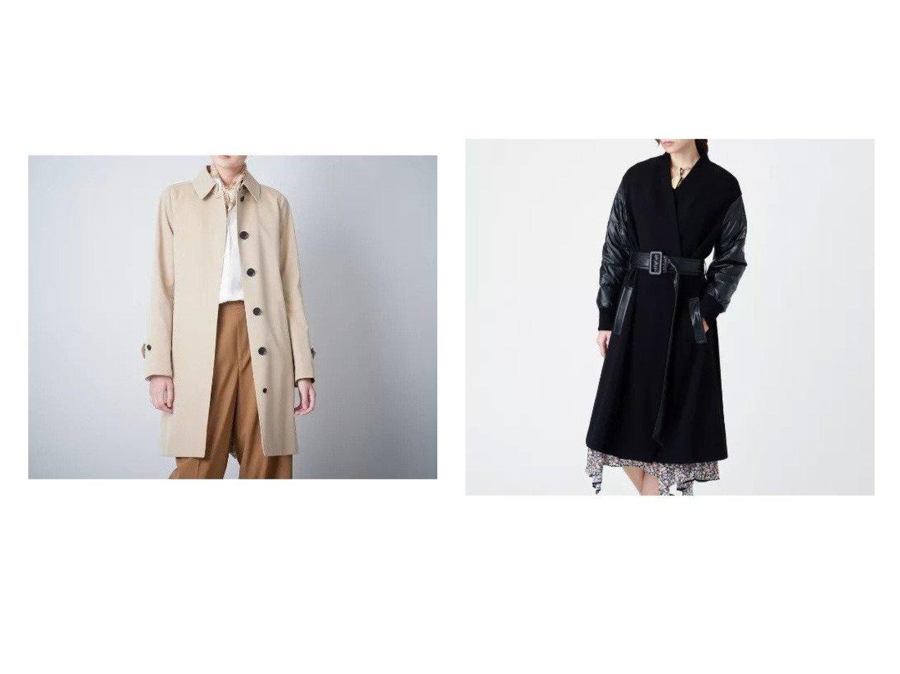 【SANYO/サンヨー】のバルマカーンコート&【EPOCA/エポカ】の【La maglia】ダウンドッキングニットコート アウターのおすすめ!人気、レディースファッションの通販 おすすめで人気のファッション通販商品 インテリア・家具・キッズファッション・メンズファッション・レディースファッション・服の通販 founy(ファニー) https://founy.com/ ファッション Fashion レディース WOMEN アウター Coat Outerwear コート Coats エレガント カフス スタンダード フラップ フロント ポケット ライナー リバーシブル ループ ストレッチ ダウン ドッキング |ID:crp329100000001742