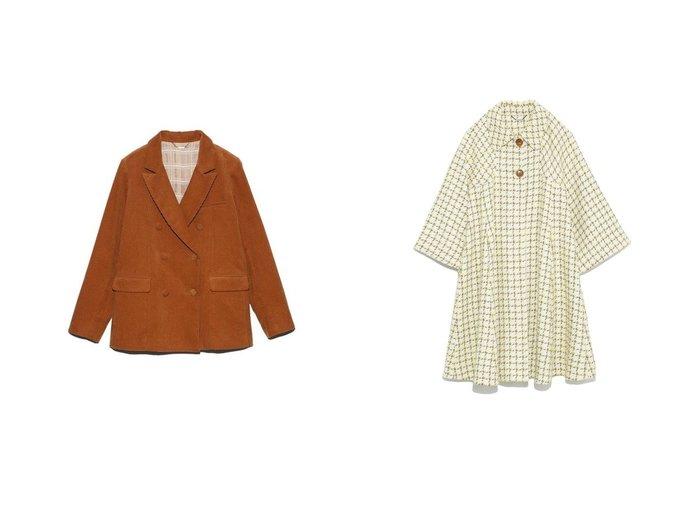 【Lily Brown/リリーブラウン】のコーデュロイジャケット&フレアスリーブコート アウターのおすすめ!人気、レディースファッションの通販 おすすめファッション通販アイテム インテリア・キッズ・メンズ・レディースファッション・服の通販 founy(ファニー) https://founy.com/ ファッション Fashion レディース WOMEN アウター Coat Outerwear ジャケット Jackets コート Coats イエロー オレンジ コーデュロイ ジャケット セットアップ チェック トレンド ベーシック 秋冬 A/W Autumn/ Winter クラシカル シンプル ツイード ドレープ フォルム フレア 無地 ロング 冬 Winter |ID:crp329100000001766