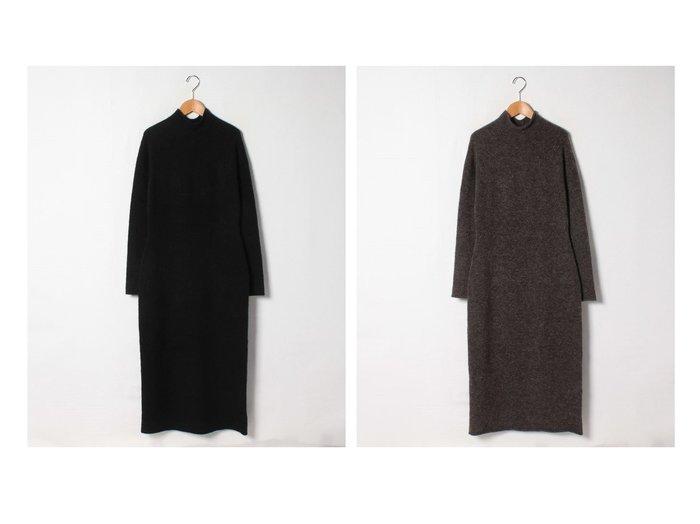 【theory/セオリー】のワンピース FINE AVALON 2 SEAMLESS LS ワンピース・ドレスのおすすめ!人気、レディースファッションの通販 おすすめファッション通販アイテム インテリア・キッズ・メンズ・レディースファッション・服の通販 founy(ファニー) https://founy.com/ ファッション Fashion レディース WOMEN ワンピース Dress ストレッチ ストレート ドレス ファブリック ホールガーメント ラグジュアリー |ID:crp329100000001827