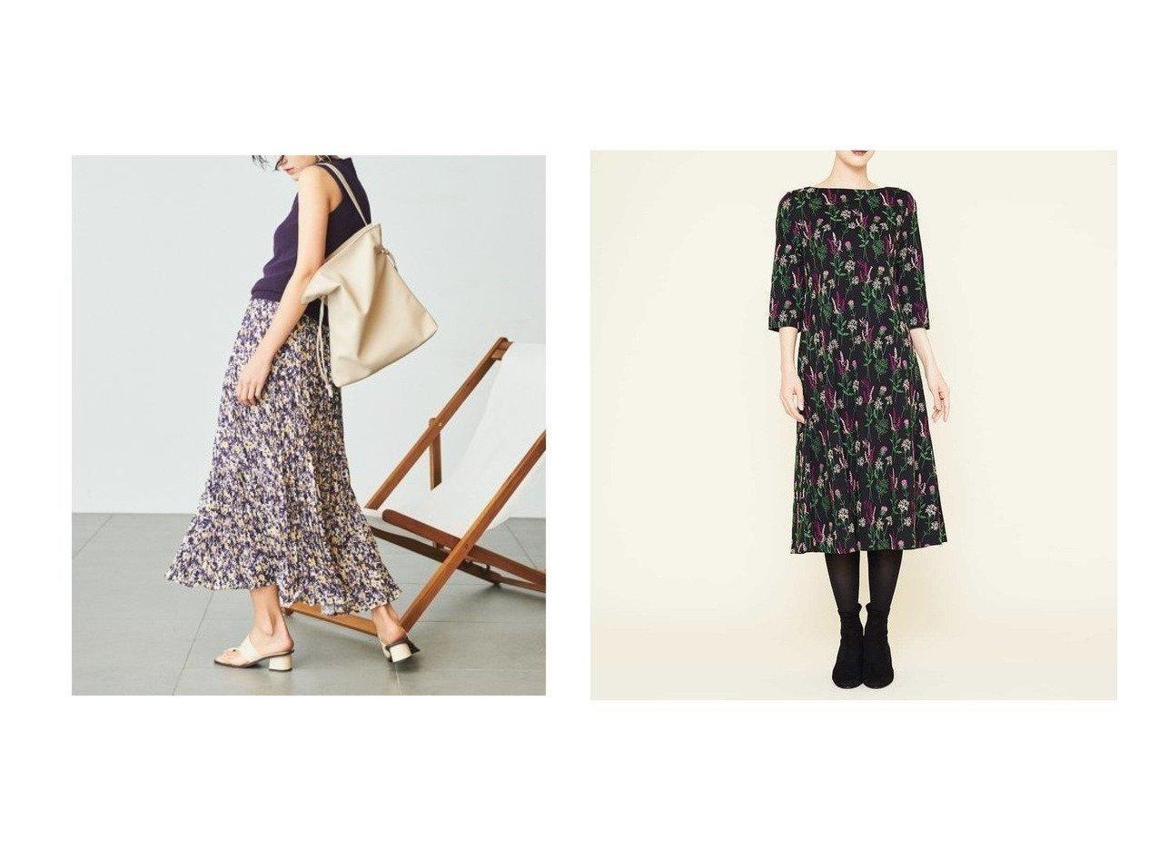 【Mila Owen/ミラオーウェン】のハイネックニットドッキングワッシャーワンピース&【SYBILLA/シビラ】のフラワー刺繍ジャージードレス ワンピース・ドレスのおすすめ!人気、レディースファッションの通販 おすすめで人気のファッション通販商品 インテリア・家具・キッズファッション・メンズファッション・レディースファッション・服の通販 founy(ファニー) https://founy.com/ ファッション Fashion レディース WOMEN ワンピース Dress ドレス Party Dresses スマート セパレート ダウン デニム ノースリーブ ブラウジング ワッシャー アンダー エレガント ジャージー ドレス フィット フラワー フレア |ID:crp329100000001829