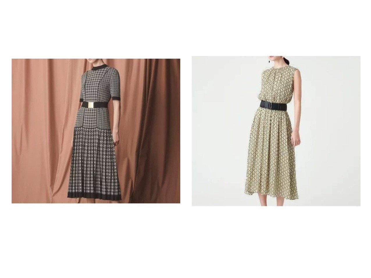 【EPOCA/エポカ】のジオメトリックドレス&ジオメトリックドレス ワンピース・ドレスのおすすめ!人気、レディースファッションの通販 おすすめで人気のファッション通販商品 インテリア・家具・キッズファッション・メンズファッション・レディースファッション・服の通販 founy(ファニー) https://founy.com/ ファッション Fashion レディース WOMEN ワンピース Dress ドレス Party Dresses ドレス フォーマル プリーツ 秋冬 A/W Autumn/ Winter |ID:crp329100000001836