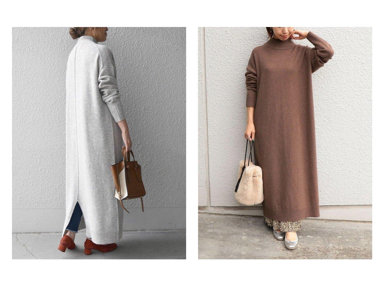 【SHIPS any/シップス エニィ】のSHIPS any: ラムウール ニットワンピース ワンピース・ドレスのおすすめ!人気、レディースファッションの通販 おすすめで人気のファッション通販商品 インテリア・家具・キッズファッション・メンズファッション・レディースファッション・服の通販 founy(ファニー) https://founy.com/ ファッション Fashion レディース WOMEN ワンピース Dress ニットワンピース Knit Dresses スリット プリーツ |ID:crp329100000001869