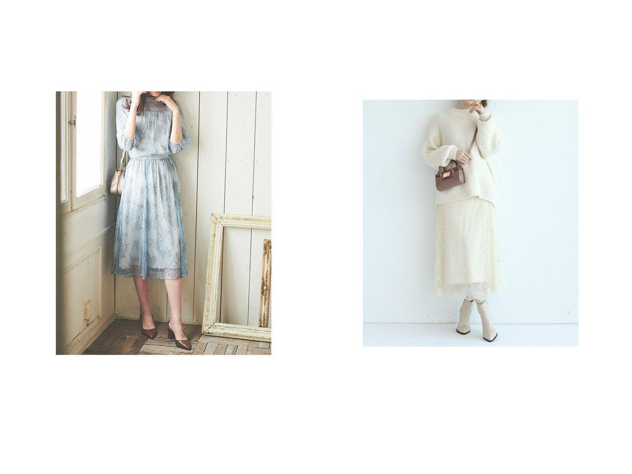 【31 Sons de mode/トランテアン ソン ドゥ モード】の【セットアップ】レースセットアップ&【Apuweiser-riche/アプワイザーリッシェ】の2wayレーススカートセットニットアップ゜ ワンピース・ドレスのおすすめ!人気、レディースファッションの通販 おすすめで人気のファッション通販商品 インテリア・家具・キッズファッション・メンズファッション・レディースファッション・服の通販 founy(ファニー) https://founy.com/ ファッション Fashion レディース WOMEN セットアップ Setup スカート Skirt アクセサリー インナー コラボ シアー シフォン シューズ シンプル ジャケット スリーブ セットアップ タートルネック デコルテ 定番 ハイネック フェミニン ブルゾン プリーツ ベーシック レース ロング 秋冬 A/W Autumn/ Winter 冬 Winter アクリル スリット ロマンティック |ID:crp329100000001876