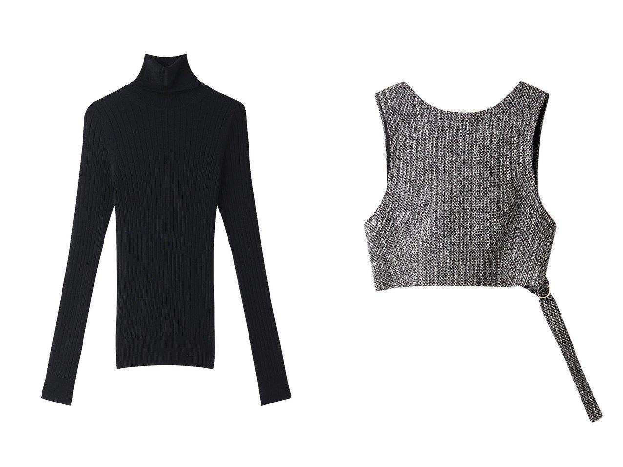 【BLAMINK/ブラミンク】のウール18Gリブタートルネックロングスリーブ&【Ezick/エジック】のツイードキリカエビスチェ トップス・カットソーのおすすめ!人気、レディースファッションの通販 おすすめで人気のファッション通販商品 インテリア・家具・キッズファッション・メンズファッション・レディースファッション・服の通販 founy(ファニー) https://founy.com/ ファッション Fashion レディース WOMEN トップス Tops Tshirt ニット Knit Tops プルオーバー Pullover タートルネック Turtleneck キャミソール / ノースリーブ No Sleeves シャツ/ブラウス Shirts Blouses カットソー Cut and Sewn ビスチェ Bustier コンパクト シンプル ストライプ タートルネック カットソー キャミソール タンク ツイード トレンド ベーシック |ID:crp329100000001898