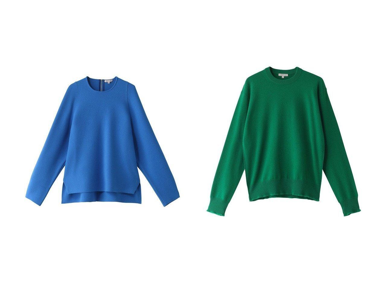 【BLAMINK/ブラミンク】のカシミヤ12GクルーネックロングスリーブW&ウールカシミヤ12Gクルーロングスリーブ トップス・カットソーのおすすめ!人気、レディースファッションの通販 おすすめで人気のファッション通販商品 インテリア・家具・キッズファッション・メンズファッション・レディースファッション・服の通販 founy(ファニー) https://founy.com/ ファッション Fashion レディース WOMEN トップス Tops Tshirt ニット Knit Tops プルオーバー Pullover カシミヤ シンプル バランス フォルム ボトム |ID:crp329100000001909
