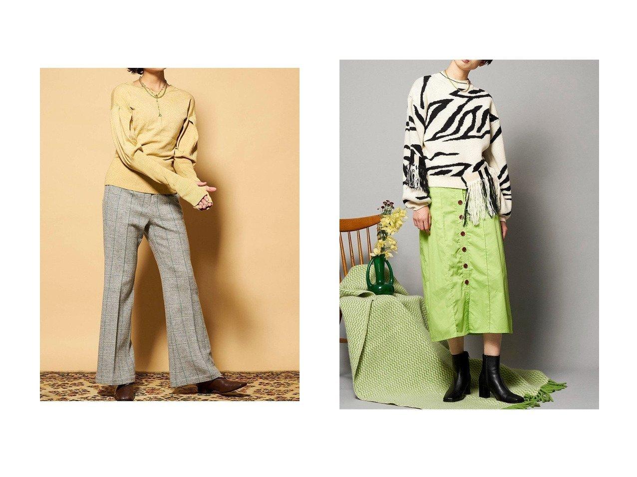 【MAISON SPECIAL/メゾンスペシャル】のゼブラジャカードフリンジニット&パフスリーブ2WAYニット トップス・カットソーのおすすめ!人気、レディースファッションの通販 おすすめで人気のファッション通販商品 インテリア・家具・キッズファッション・メンズファッション・レディースファッション・服の通販 founy(ファニー) https://founy.com/ ファッション Fashion レディース WOMEN トップス Tops Tshirt ニット Knit Tops プルオーバー Pullover スリーブ フリンジ |ID:crp329100000001942