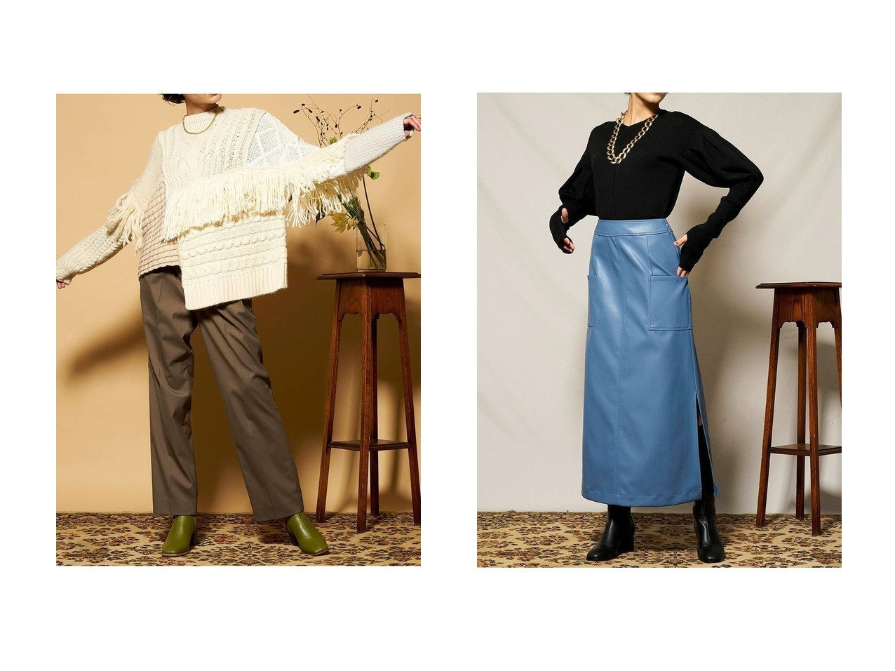 【MAISON SPECIAL/メゾンスペシャル】のフリンジケーブルニットプルオーバー&パフスリーブ2WAYニット トップス・カットソーのおすすめ!人気、レディースファッションの通販 おすすめで人気のファッション通販商品 インテリア・家具・キッズファッション・メンズファッション・レディースファッション・服の通販 founy(ファニー) https://founy.com/ ファッション Fashion レディース WOMEN トップス Tops Tshirt ニット Knit Tops プルオーバー Pullover アシンメトリー パッチワーク フリンジ 秋冬 A/W Autumn/ Winter スリーブ |ID:crp329100000001943