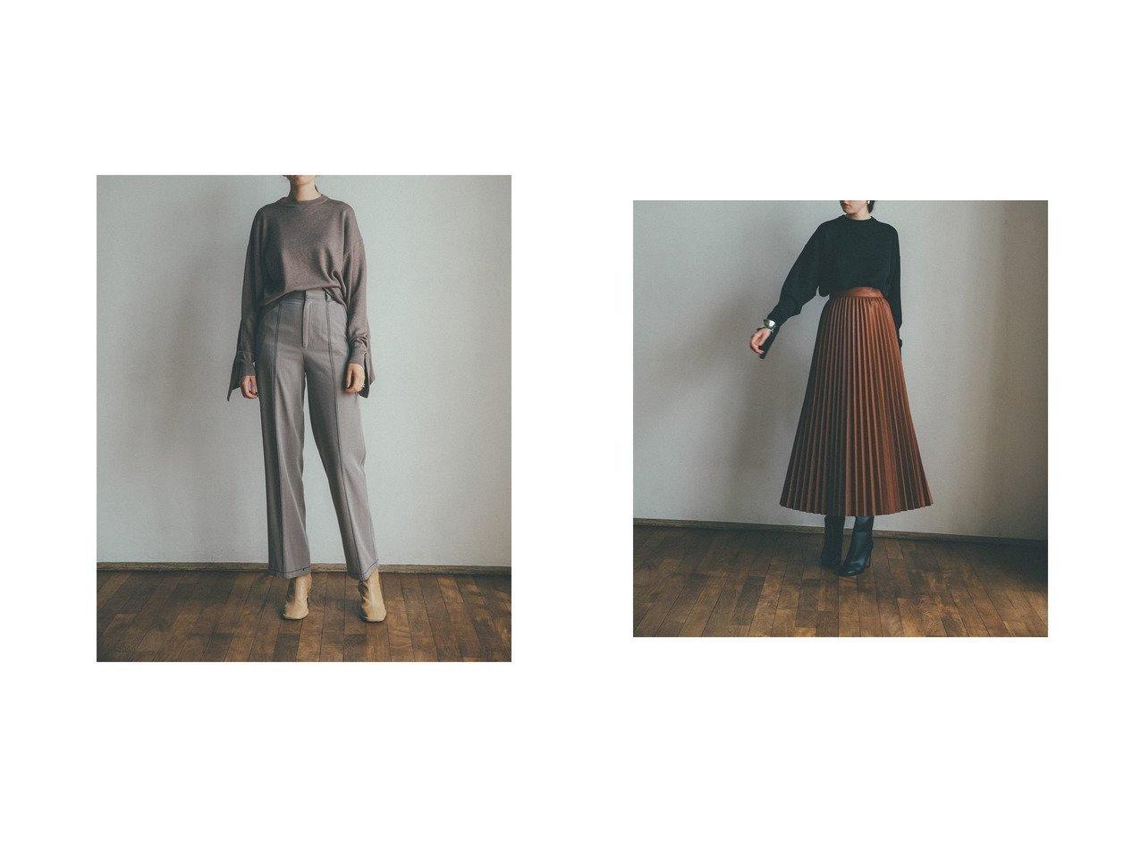 【CLANE/クラネ】のBACK FRILL KNIT TOPS トップス・カットソーのおすすめ!人気、レディースファッションの通販 おすすめで人気のファッション通販商品 インテリア・家具・キッズファッション・メンズファッション・レディースファッション・服の通販 founy(ファニー) https://founy.com/ ファッション Fashion レディース WOMEN トップス Tops Tshirt ニット Knit Tops セーター フリル ベーシック |ID:crp329100000001961