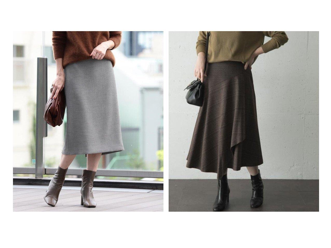 【Demi-Luxe BEAMS/デミルクス ビームス】のDemi- チェック タイトスカート&【URBAN RESEARCH ROSSO/アーバンリサーチ ロッソ】のチェックドッキングスカート スカートのおすすめ!人気、レディースファッションの通販 おすすめで人気のファッション通販商品 インテリア・家具・キッズファッション・メンズファッション・レディースファッション・服の通販 founy(ファニー) https://founy.com/ ファッション Fashion レディース WOMEN スカート Skirt クラシカル ストレッチ スリット タイトスカート ダブル チェック フェイス アシンメトリー ドッキング ポケット ルーズ ワイド |ID:crp329100000002184