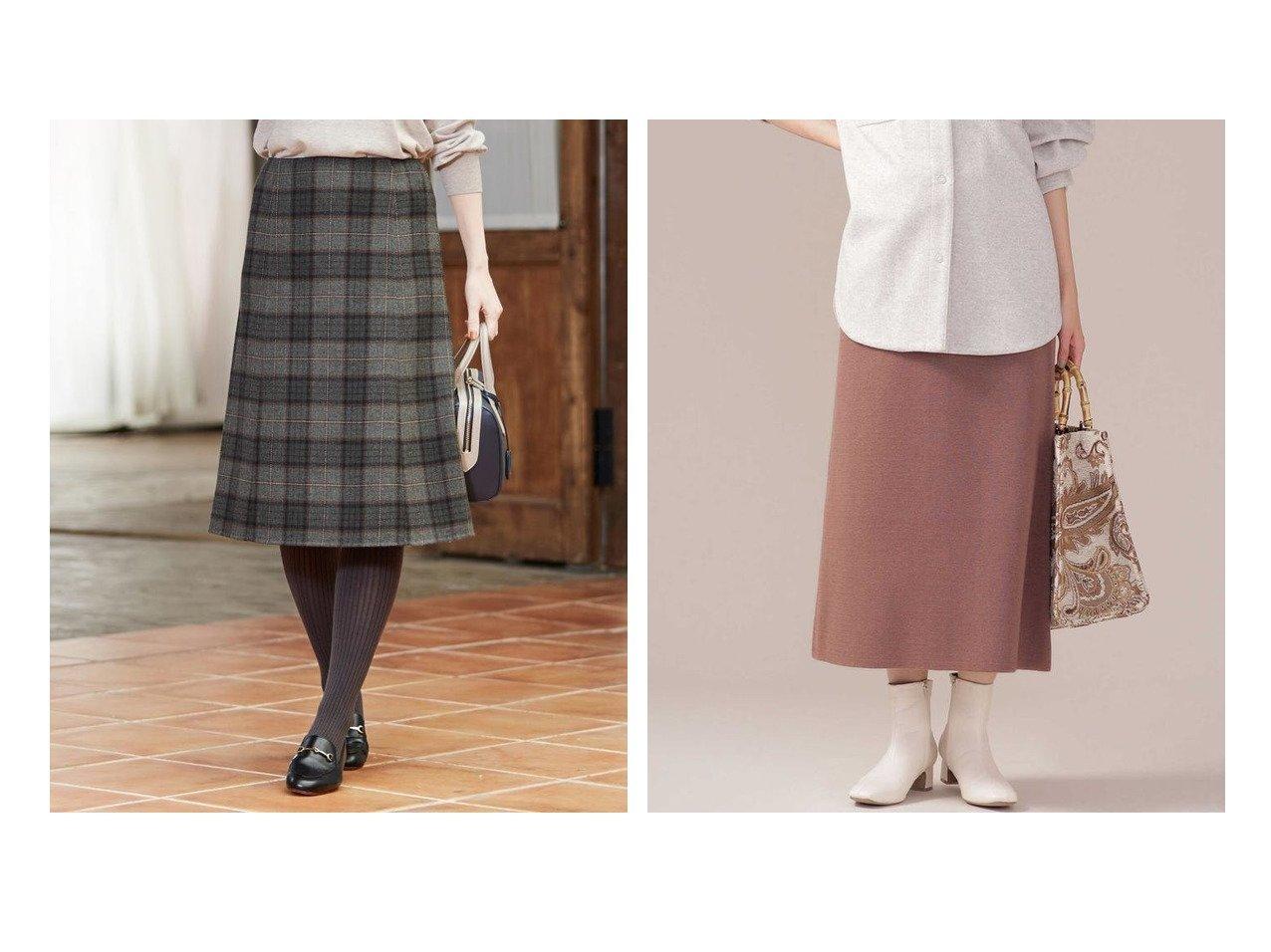 【nano universe/ナノ ユニバース】のミラノリブAラインニットスカート&【J.PRESS/ジェイ プレス】の【リバーシブル】エアーファインウールリバーチェック スカート スカートのおすすめ!人気、レディースファッションの通販 おすすめで人気のファッション通販商品 インテリア・家具・キッズファッション・メンズファッション・レディースファッション・服の通販 founy(ファニー) https://founy.com/ ファッション Fashion レディース WOMEN スカート Skirt Aライン/フレアスカート Flared A-Line Skirts チェック トレンド ドレープ フレア ミックス リバーシブル ロング 無地 軽量 ミラノリブ |ID:crp329100000002187