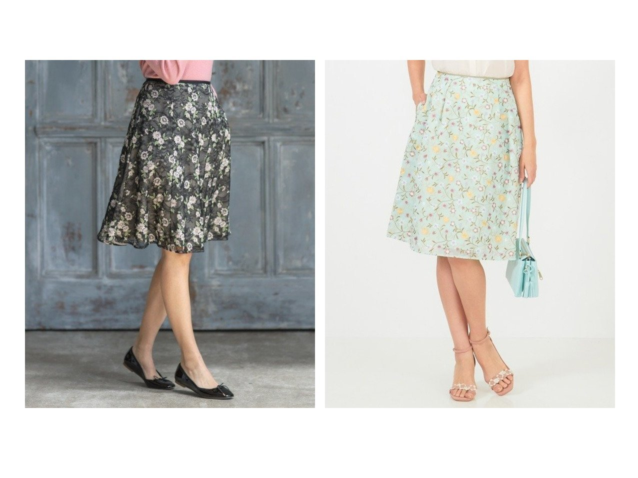 【TOCCA/トッカ】の【洗える!】FLOWER FRIENDS スカート&【洗える!】SIMONE スカート スカートのおすすめ!人気、レディースファッションの通販 おすすめで人気のファッション通販商品 インテリア・家具・キッズファッション・メンズファッション・レディースファッション・服の通販 founy(ファニー) https://founy.com/ ファッション Fashion レディース WOMEN スカート Skirt |ID:crp329100000002194