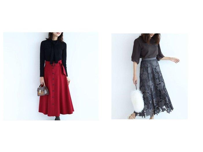 【JUSGLITTY/ジャスグリッティー】のスエードレース刺繍フレアスカート&ベルト付きカラースカート スカートのおすすめ!人気、レディースファッションの通販 おすすめファッション通販アイテム レディースファッション・服の通販 founy(ファニー) ファッション Fashion レディース WOMEN スカート Skirt ベルト Belts Aライン/フレアスカート Flared A-Line Skirts クラシカル サークル スエード バランス パーティ フレア レース ワーク  ID:crp329100000002212