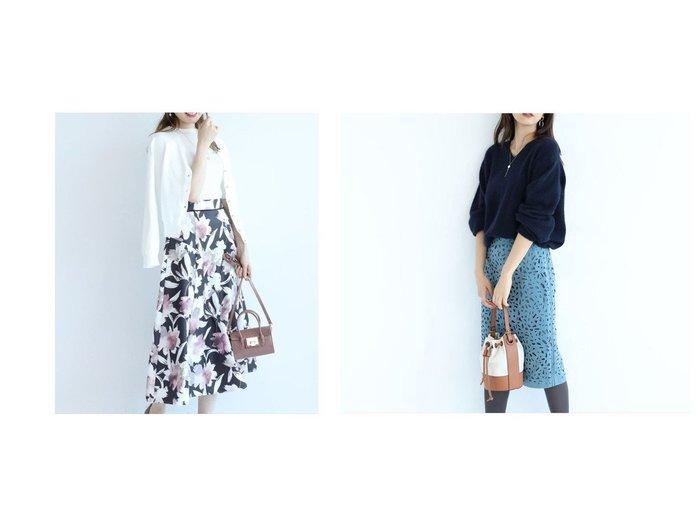 【JUSGLITTY/ジャスグリッティー】のレーシータイトスカート&【Apuweiser-riche/アプワイザーリッシェ】のシャドーフラワーフレアスカート スカートのおすすめ!人気、レディースファッションの通販 おすすめファッション通販アイテム レディースファッション・服の通販 founy(ファニー) ファッション Fashion レディース WOMEN スカート Skirt Aライン/フレアスカート Flared A-Line Skirts スニーカー プリント ミモレ エレガント スマート タイトスカート ワーク  ID:crp329100000002215