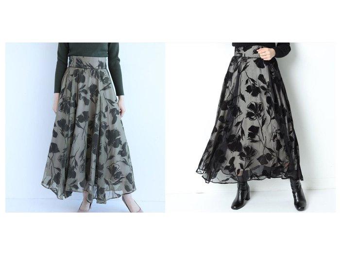 【Mystrada/マイストラーダ】のリリーフロッキースカート スカートのおすすめ!人気、レディースファッションの通販 おすすめファッション通販アイテム レディースファッション・服の通販 founy(ファニー) ファッション Fashion レディース WOMEN スカート Skirt イレギュラーヘム エアリー エレガント フェミニン フレア |ID:crp329100000002217