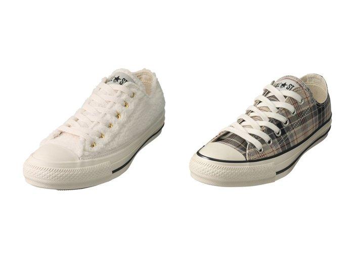 【CONVERSE/コンバース】のオールスター US チェック OX&オールスターボア OX シューズ・靴のおすすめ!人気、レディースファッションの通販 おすすめファッション通販アイテム レディースファッション・服の通販 founy(ファニー) ファッション Fashion レディース WOMEN スニーカー クッション クラシカル チェック |ID:crp329100000002229