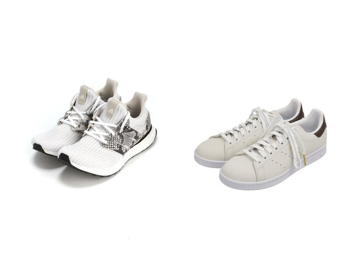 【adidas Sports Performance/アディダス スポーツ パフォーマンス】のウルトラブースト DNA パイソン [Ultraboost DNA Python] アディダス&【adidas Originals/アディダス オリジナルス】のスタンスミス BEAUTY&YOUTH [STAN SMITH BY] アディダスオリジナルス シューズ・靴のおすすめ!人気、レディースファッションの通販 おすすめ人気トレンドファッション通販アイテム 人気、トレンドファッション・服の通販 founy(ファニー) ファッション Fashion レディース WOMEN クッション 軽量 シューズ スニーカー スリッポン パイソン フィット ラバー クラシック ストライプ フォーマル 今季 |ID:crp329100000002256