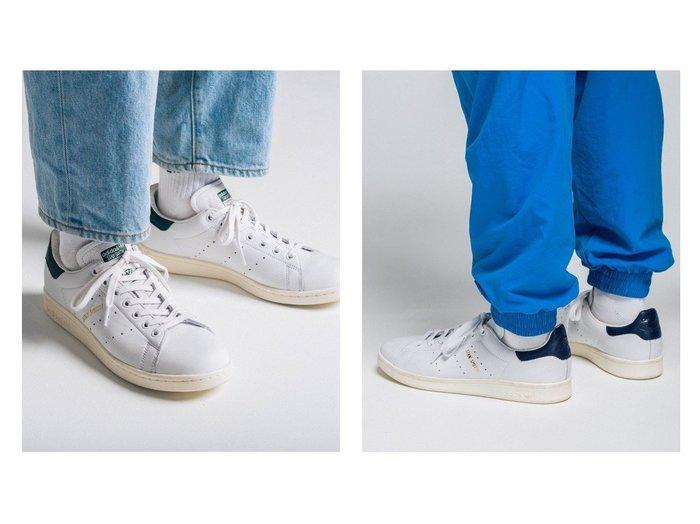【adidas Originals/アディダス オリジナルス】のSTAN SMITH シューズ・靴のおすすめ!人気、レディースファッションの通販 おすすめファッション通販アイテム レディースファッション・服の通販 founy(ファニー) ファッション Fashion レディース WOMEN シューズ スニーカー スリッポン パフォーマンス ライニング  ID:crp329100000002262