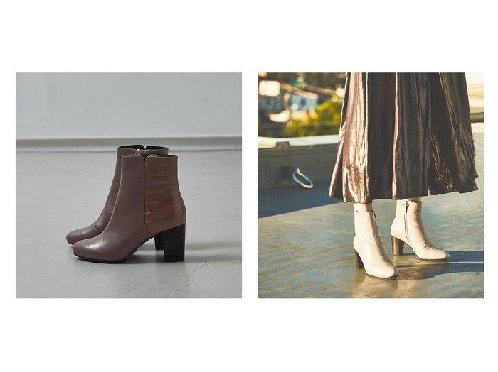 【Piche Abahouse/ピシェ アバハウス】の【スノーソール】7cmチャンキーヒールショートブーツ シューズ・靴のおすすめ!人気、レディースファッションの通販 おすすめファッション通販アイテム インテリア・キッズ・メンズ・レディースファッション・服の通販 founy(ファニー) https://founy.com/ ファッション Fashion レディース WOMEN インソール クッション シューズ ショート シンプル スタンダード フェミニン フォルム 人気 楽ちん |ID:crp329100000002263